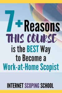 Why Internet Scoping School is the best scoping course to help you become a scopist